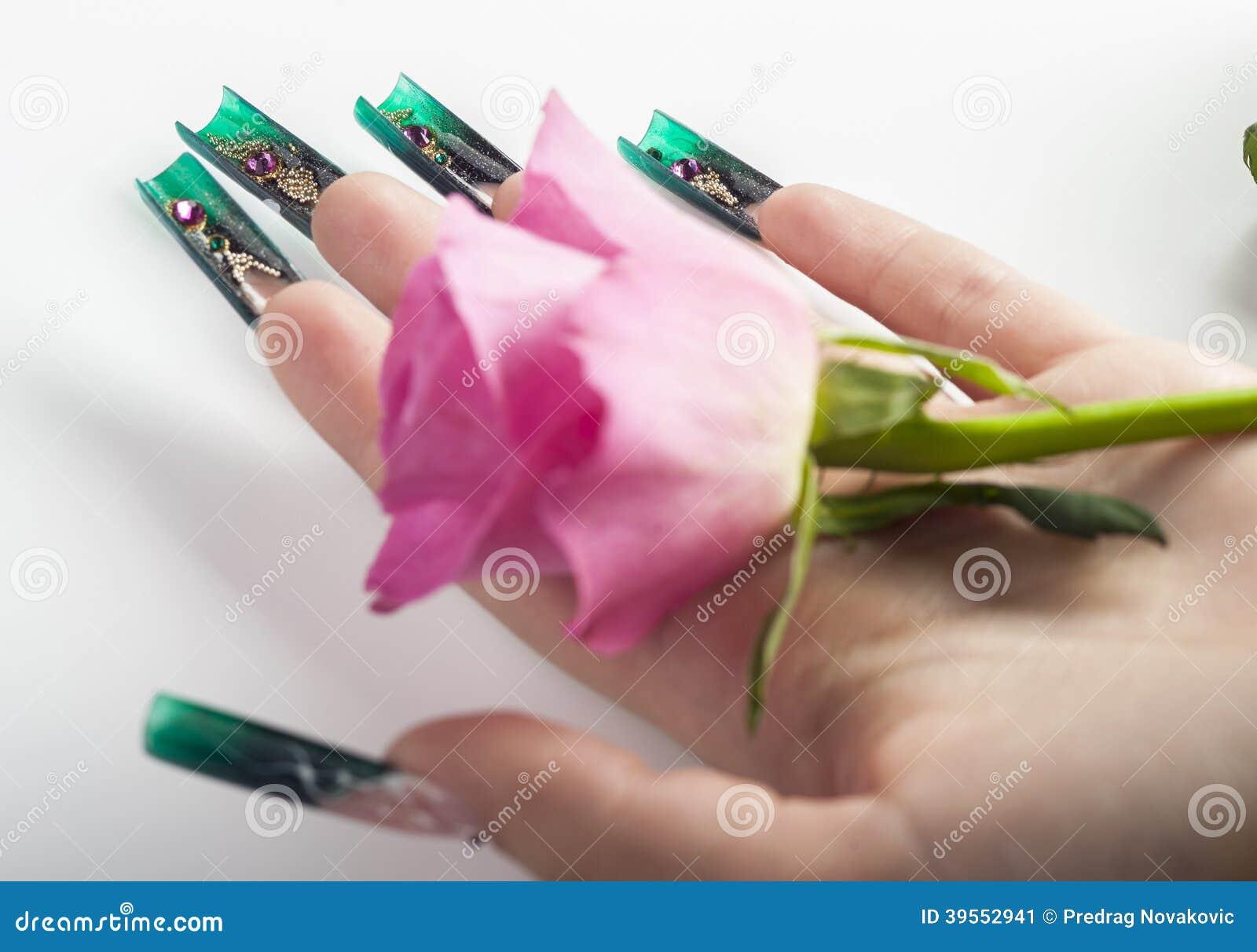 Den härliga fingernageln