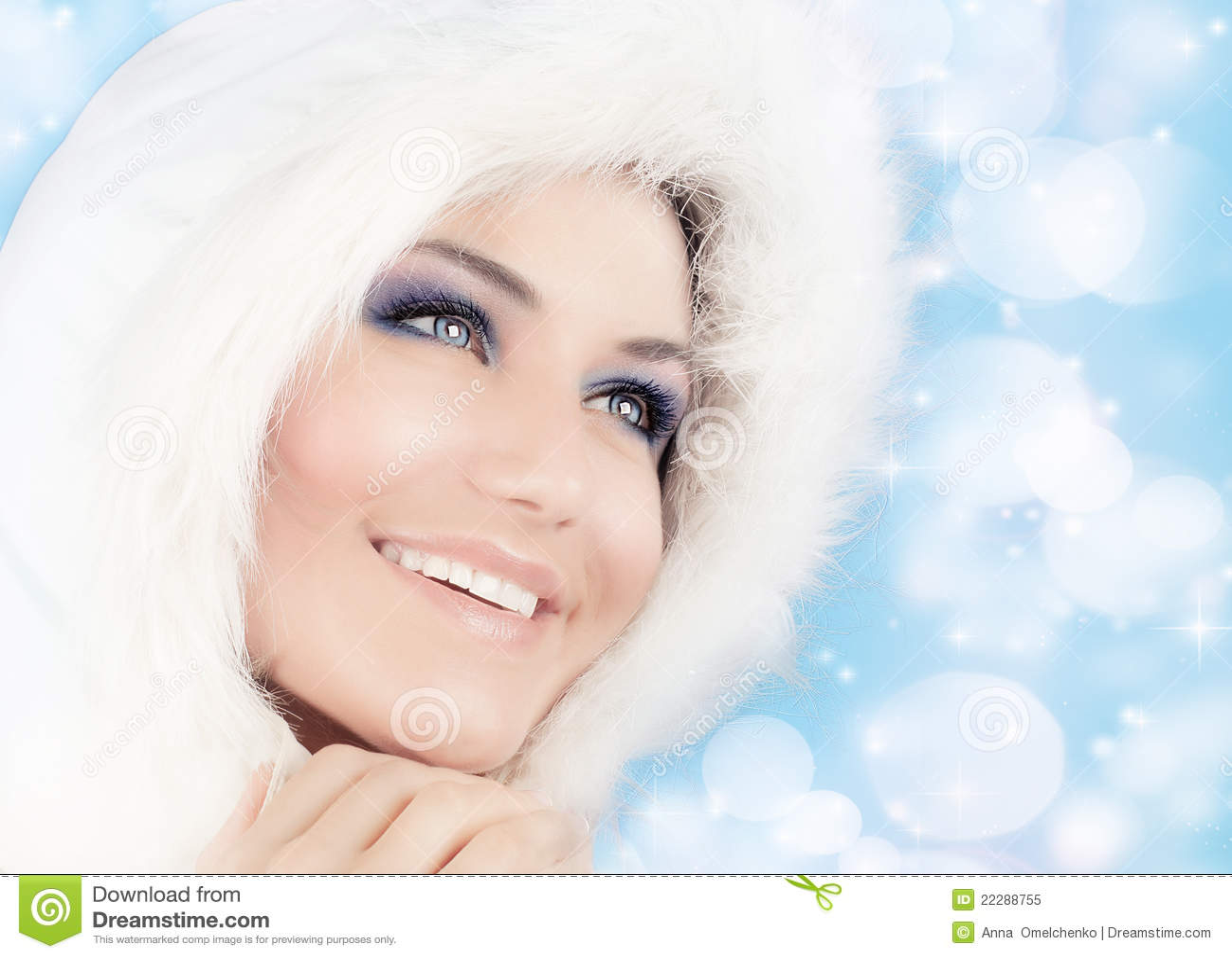 Den härliga julen görar till drottning snowstilkvinnan