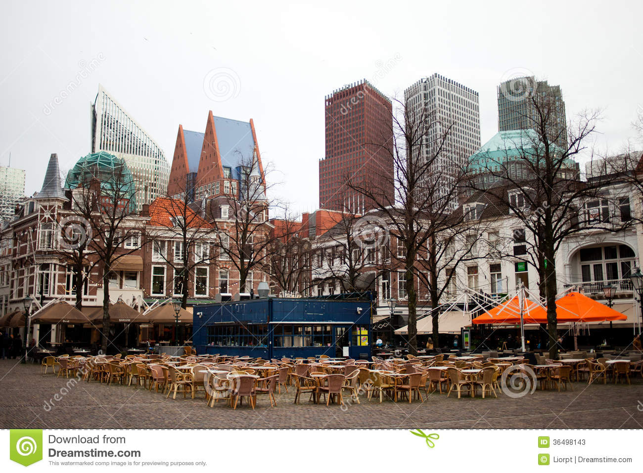 Den Haag City Center Editorial Stock Photo   Image  36498143