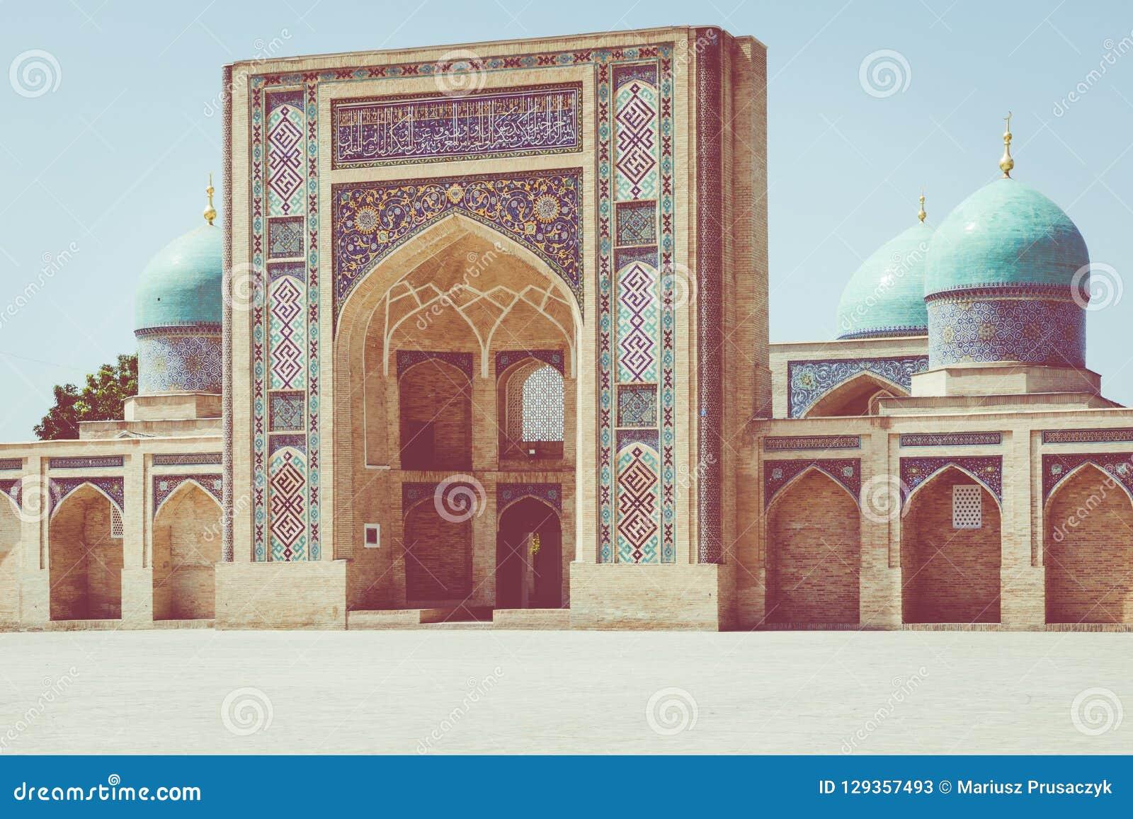 Den Hast imamen Square Hazrati Imam är en religiös mitt av Tashken