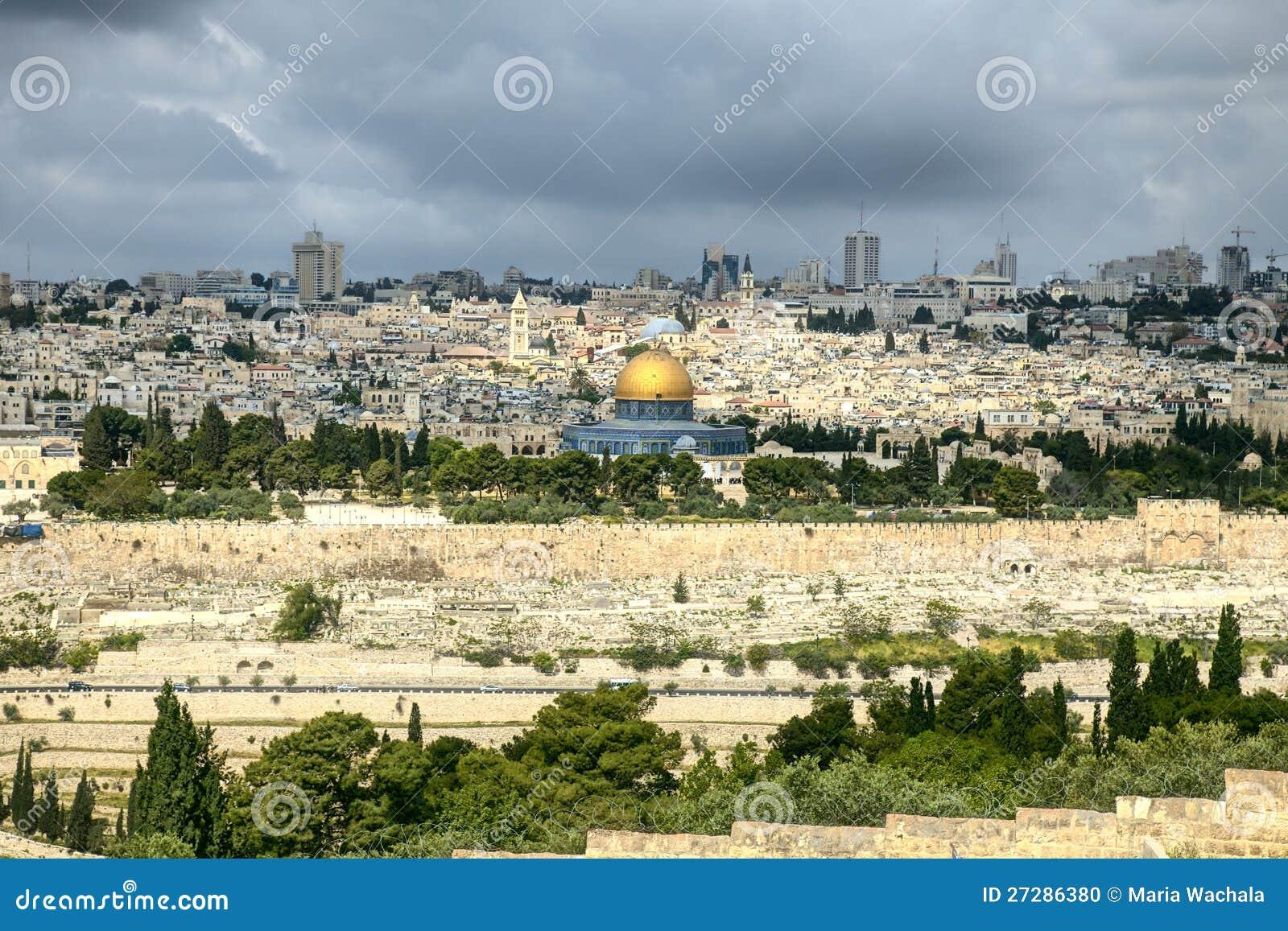 Den heliga staden Jerusalem