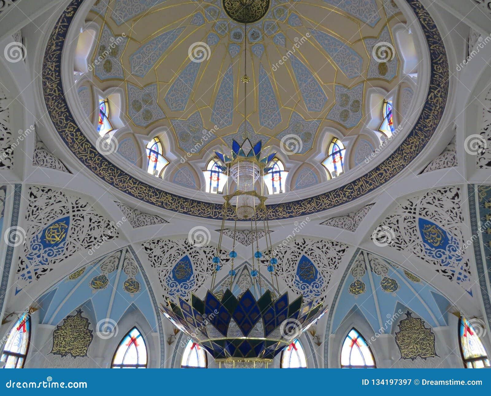 Den huvudsakliga moskén av Kazan Kul Sharif i Kreml