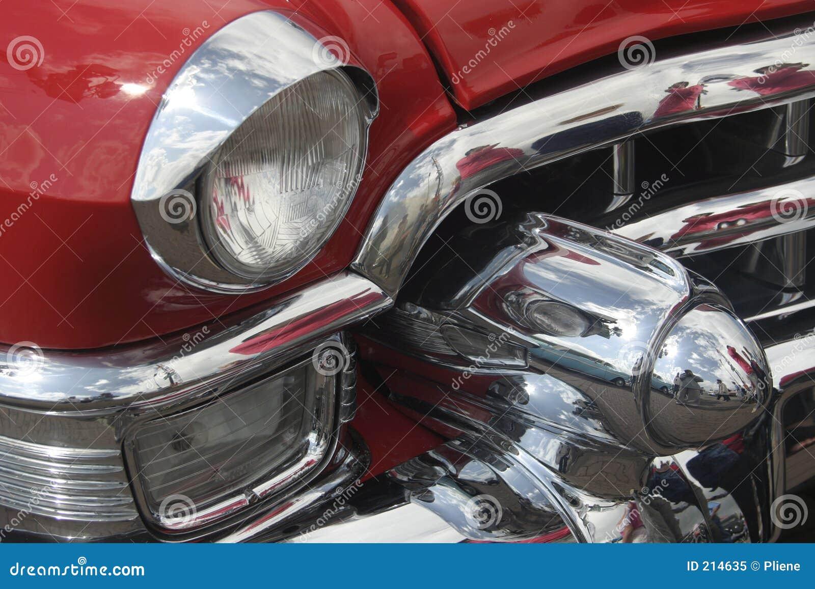 Den klassiska bilen svalnar ii mycket