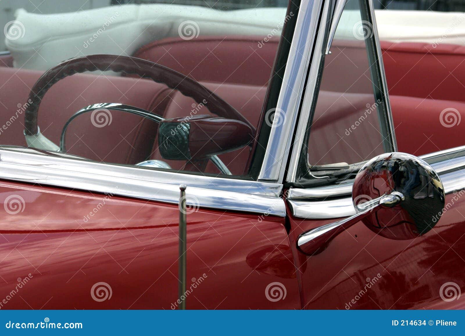 Den klassiska bilen svalnar mycket