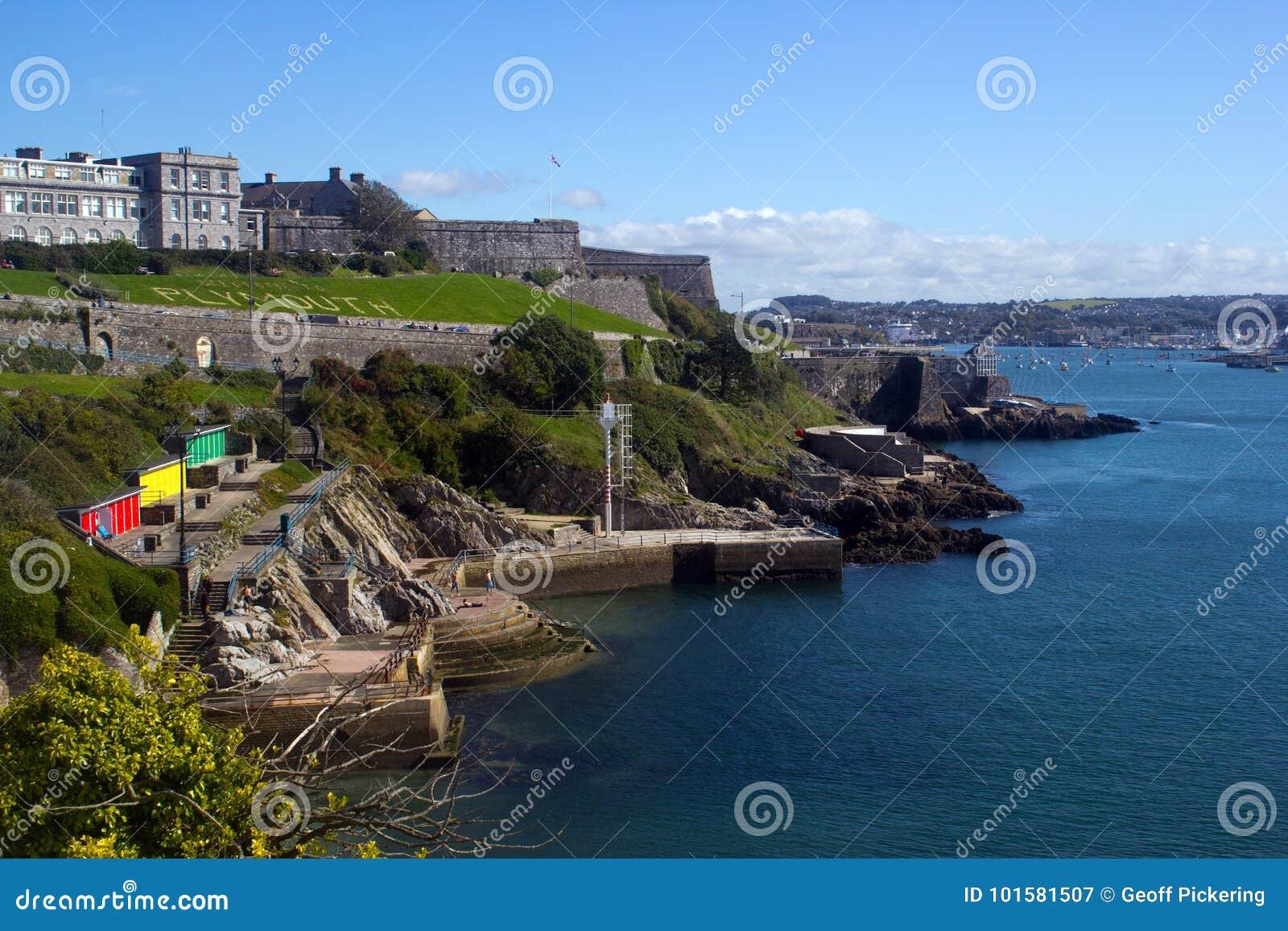 Den kungliga citadellen i Plymouth