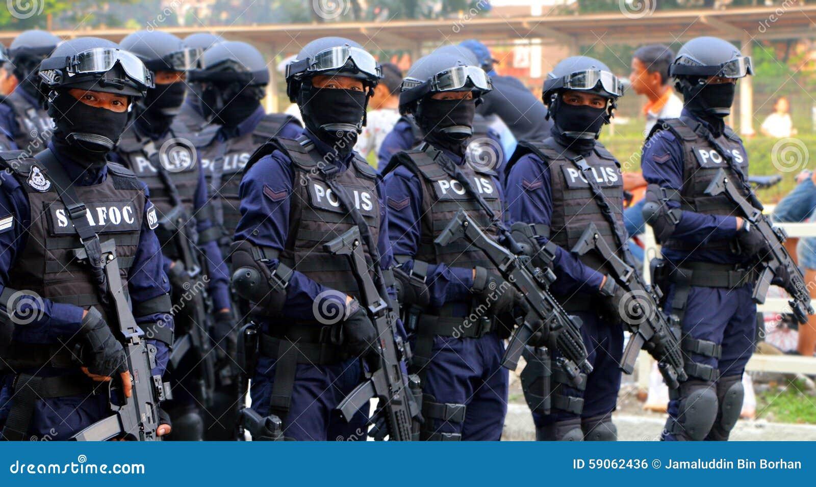 Den kungliga malaysiska polisen (specialförband)