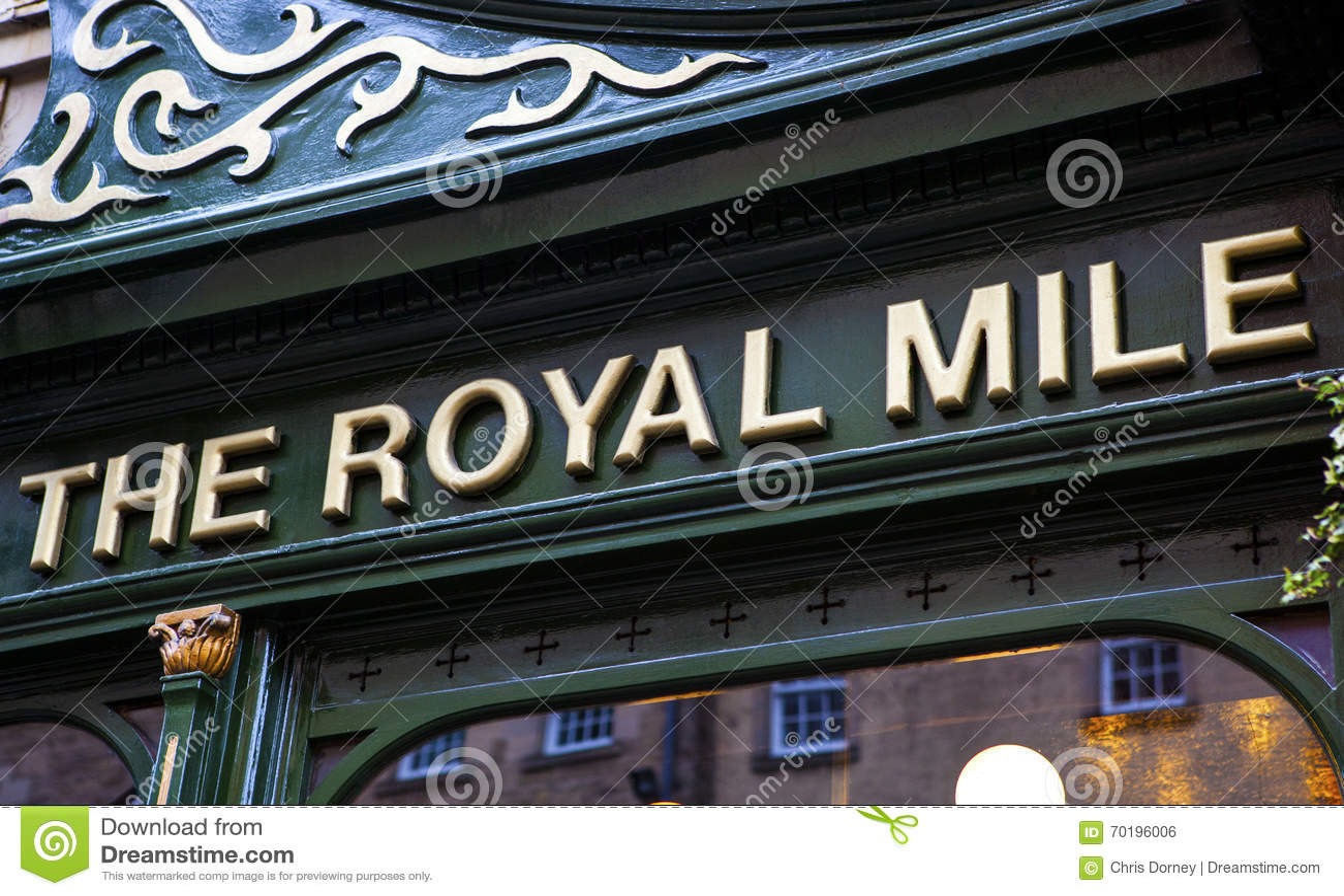 Den kungliga milpuben i Edinburg
