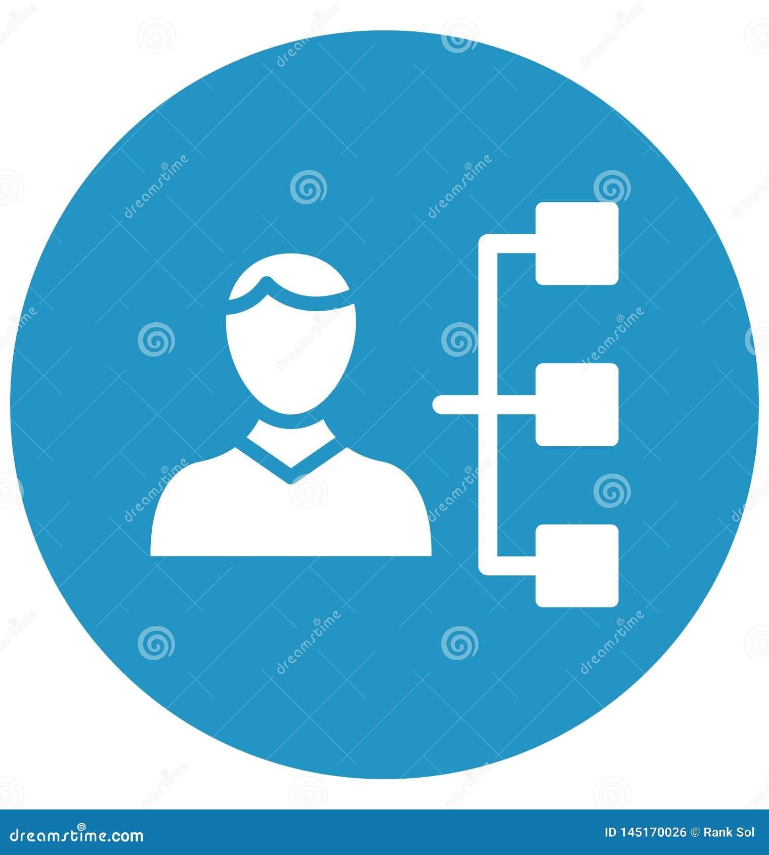Den ledarskap isolerade vektorsymbolen, som kan lätt ändra eller redigera ledarskap, isolerade vektorsymbolen som kan lätt än
