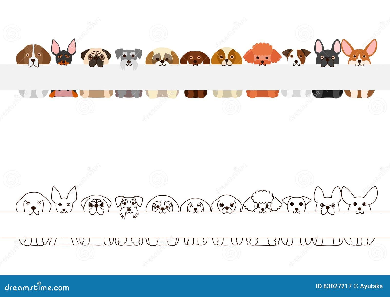 Den lilla hundkapplöpningen gränsar uppsättningen, med det långa tomma brädet i deras mouthes