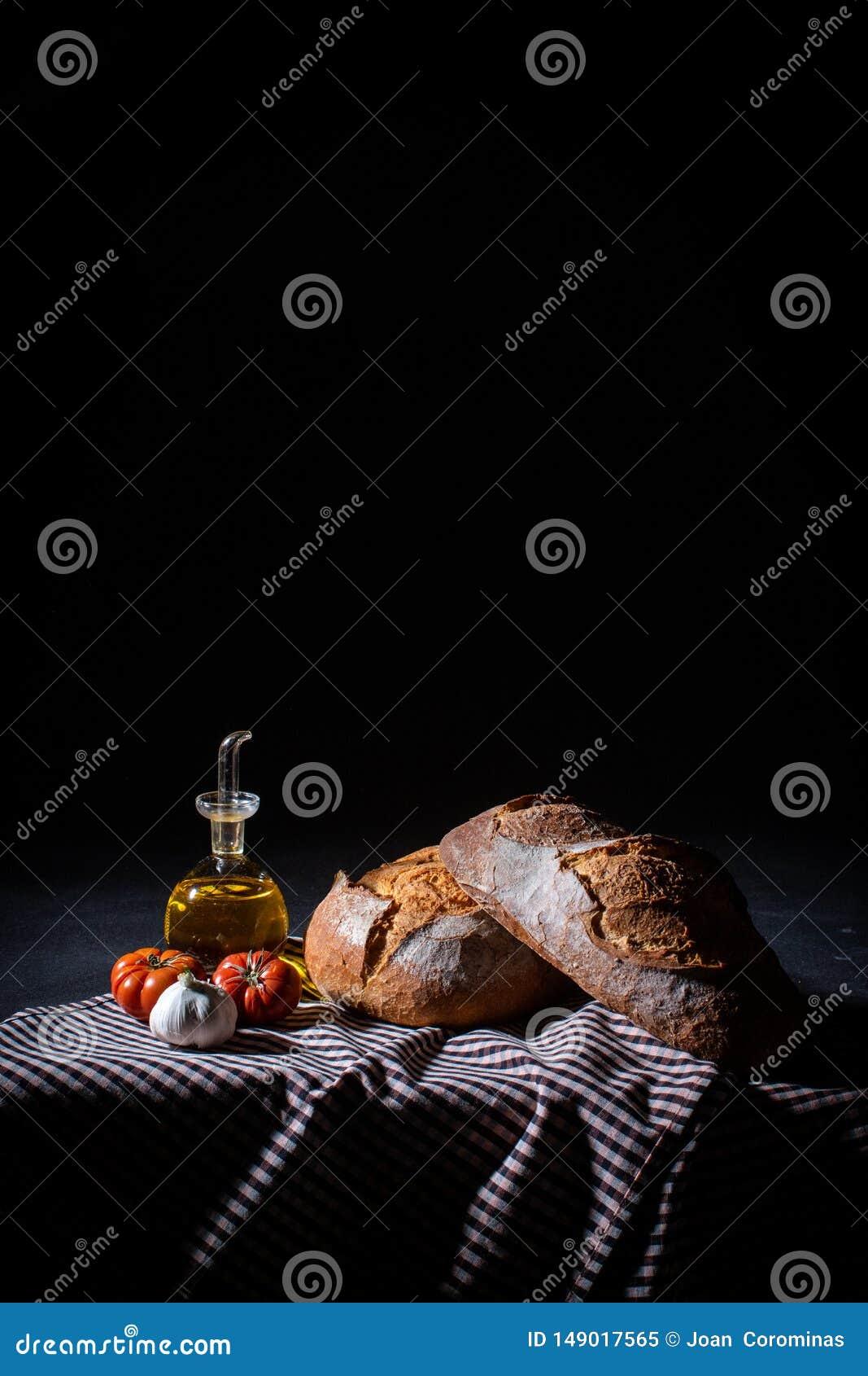 Den medelhavs- frukosten bantar