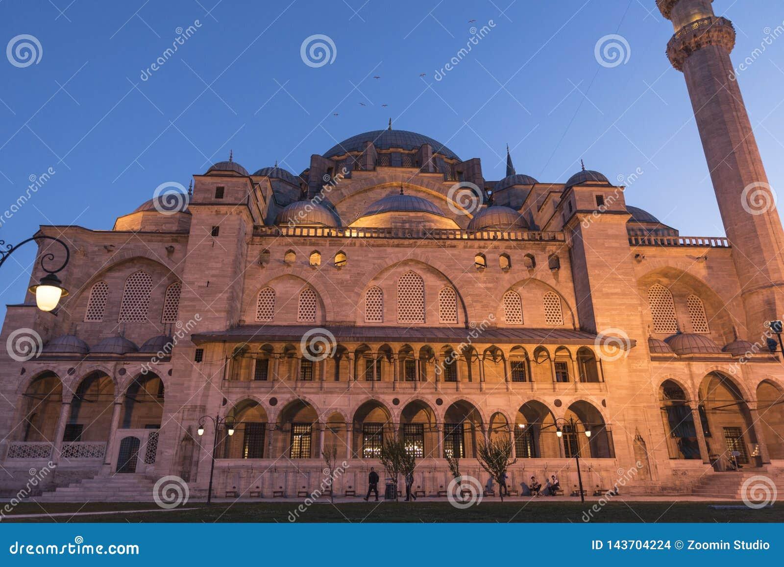 Den nya moskén är Istanbul