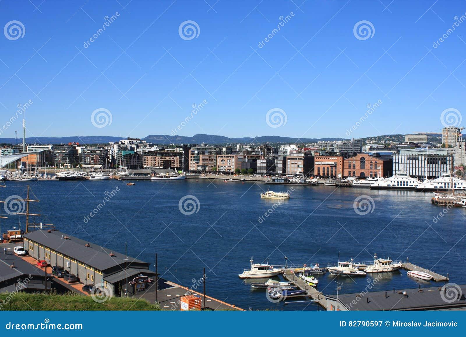 Den Oslo Norge hamnen är en av stora dragningar för Oslo ` s Situa