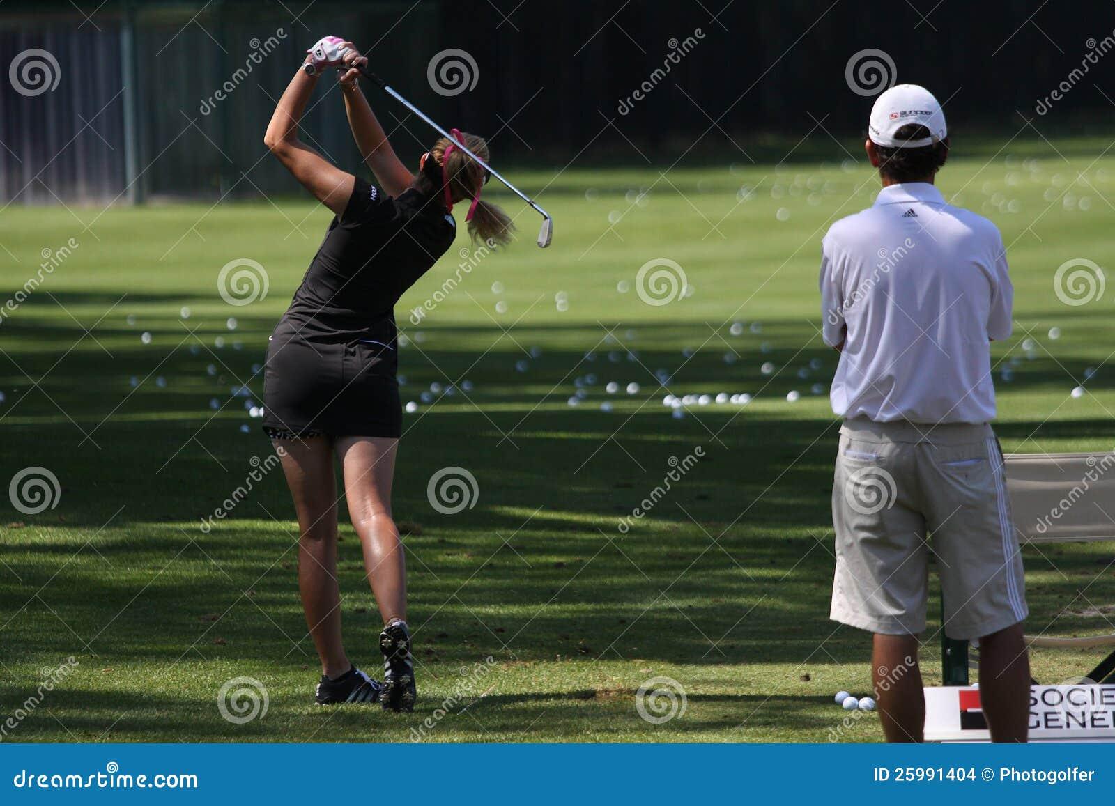 Den Paula creameren på golf Evian styrer 2012
