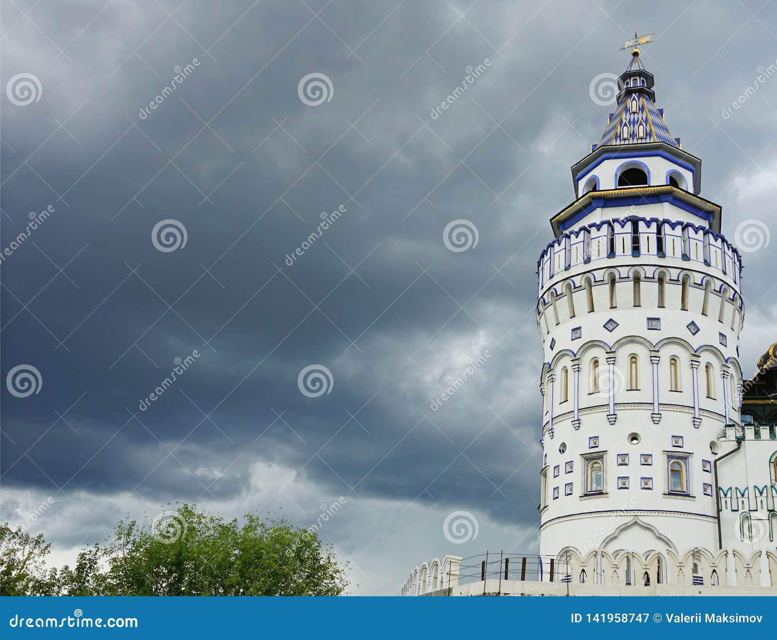 Den rekonstruerade slotten av de ryska tsarna