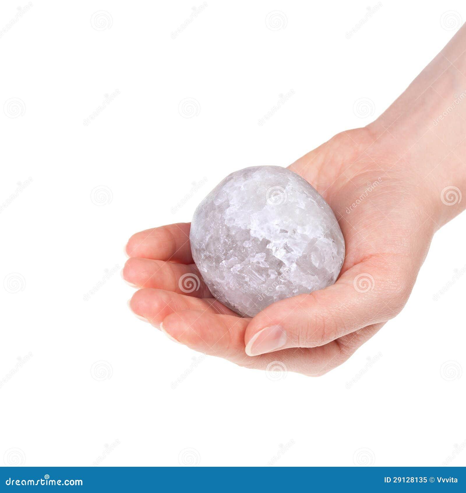 Den salt haliten klumpa ihop sig