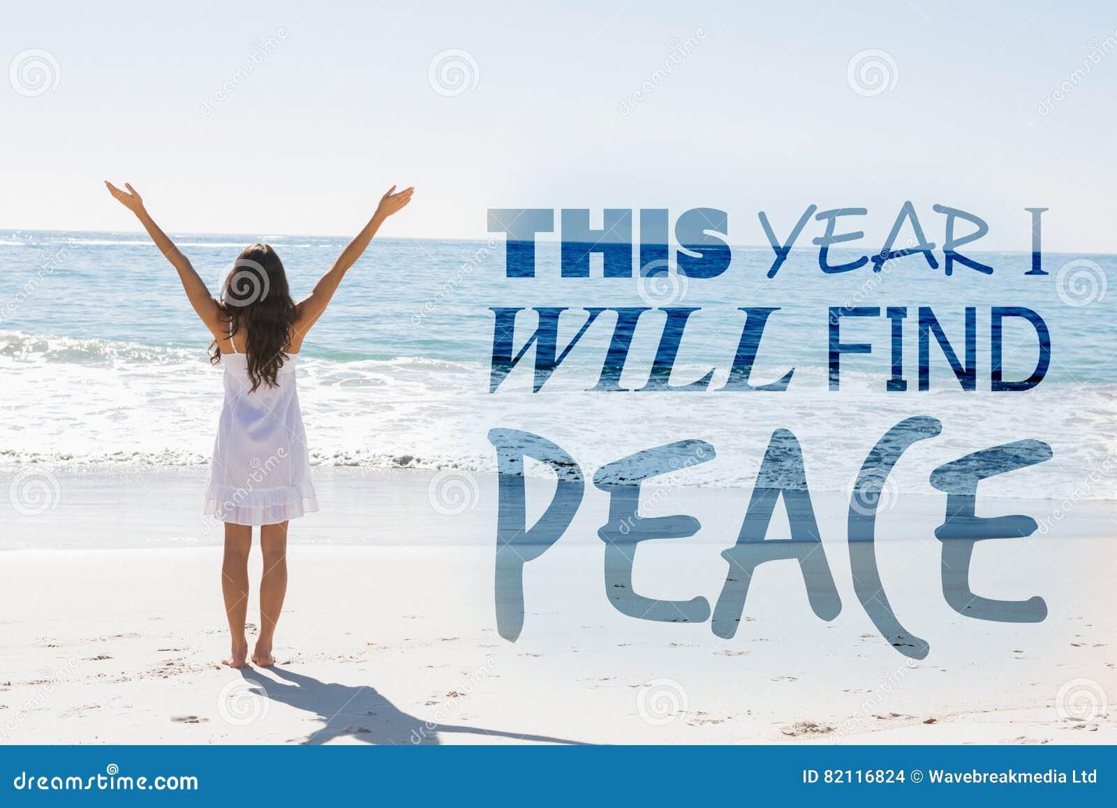 Den sammansatta bilden av i år ska jag finna fred