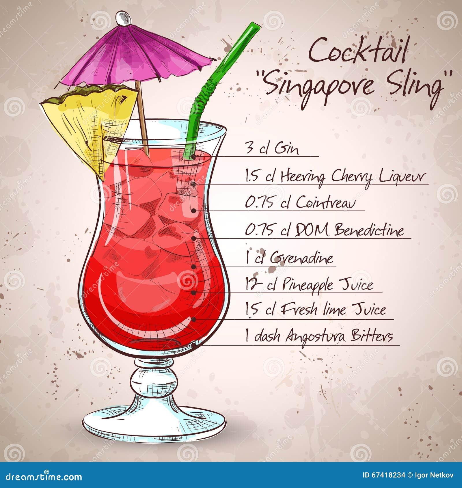 Den Singapore remcoctailen