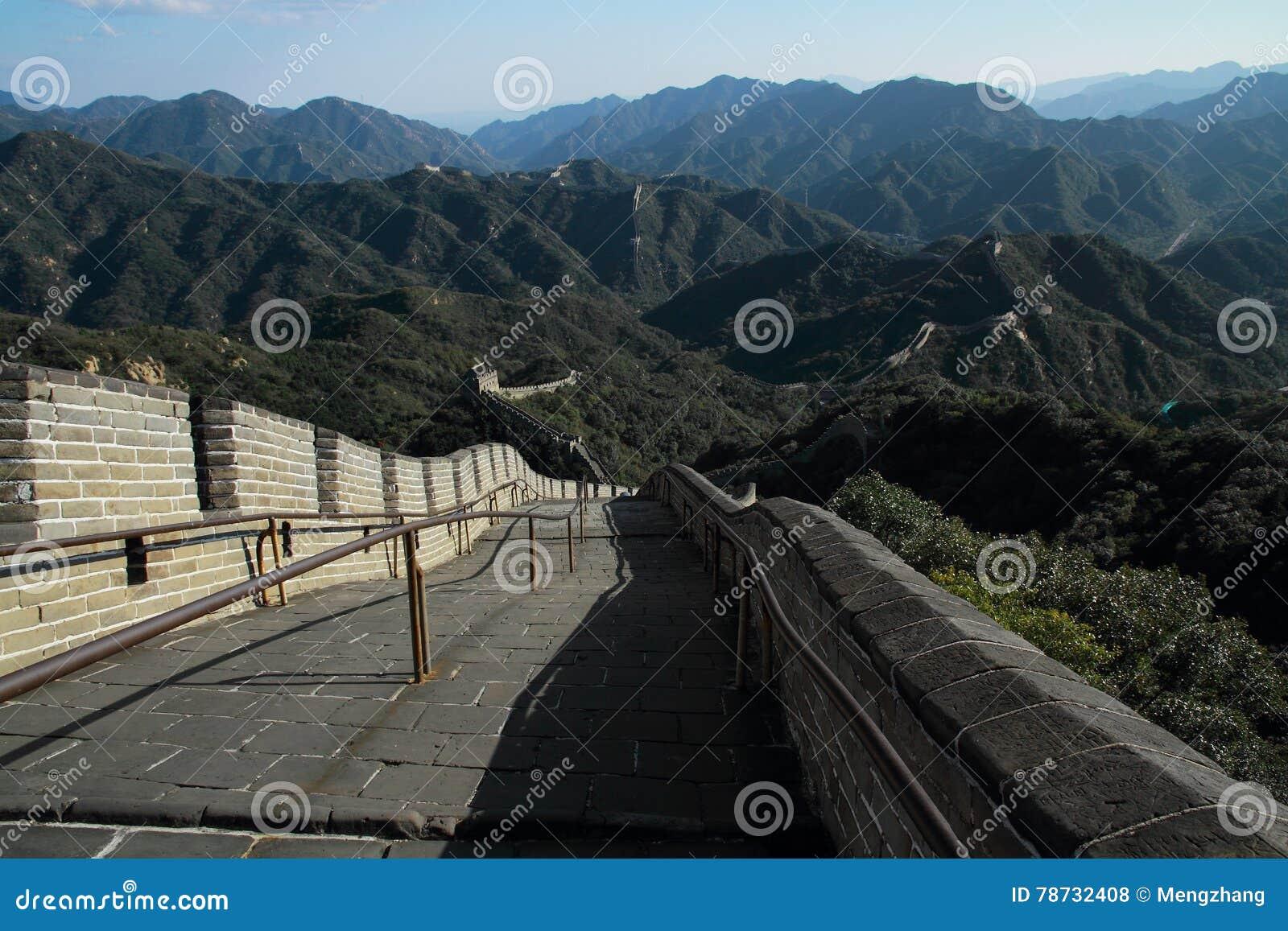 Den stora väggen av Kina