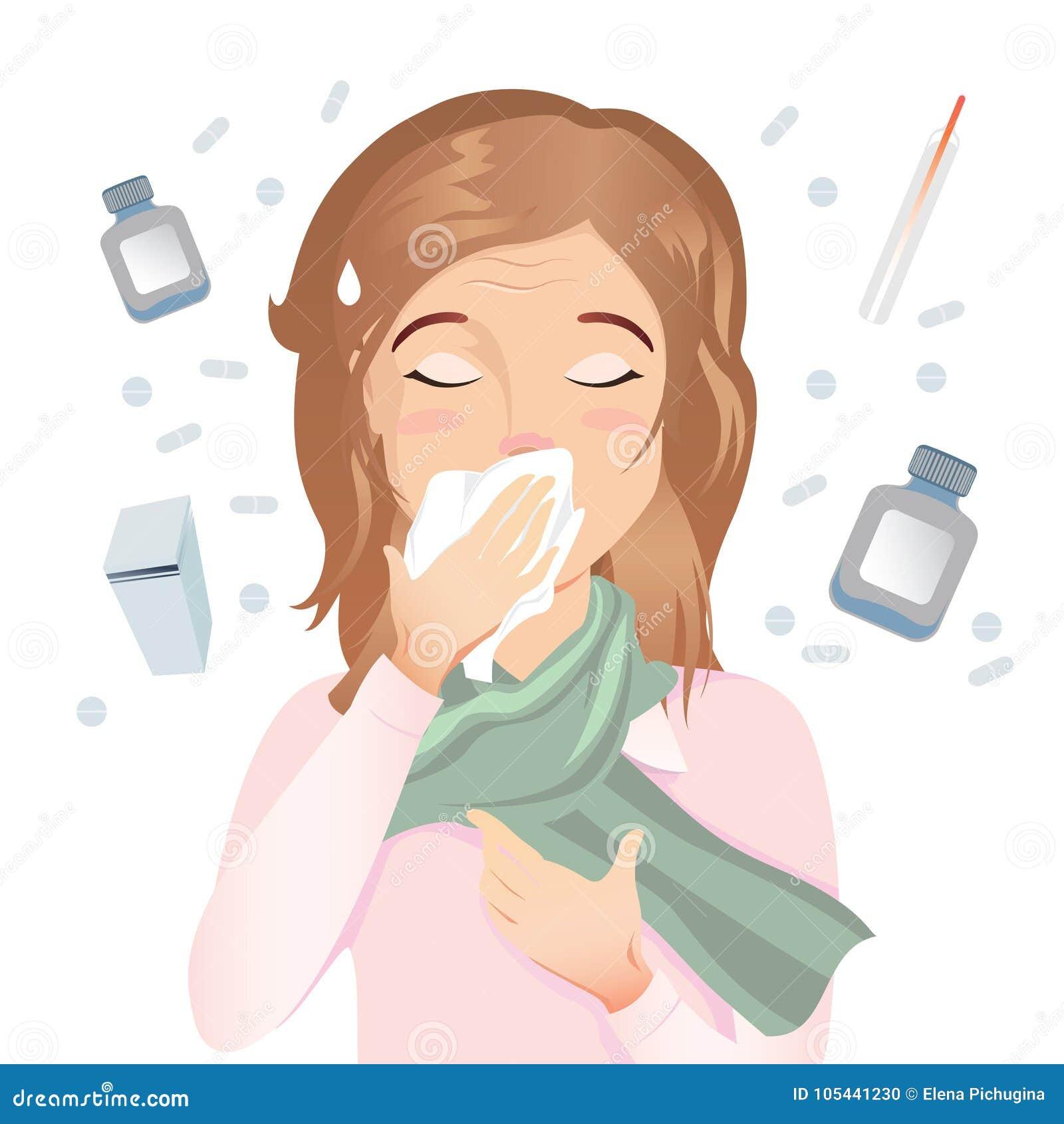 hosta vid allergi