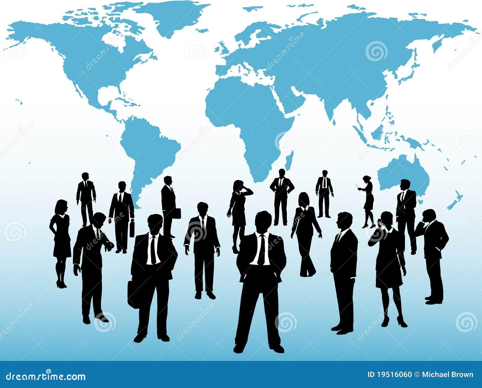 Den upptagna affären förbinder översiktsfolk under världen