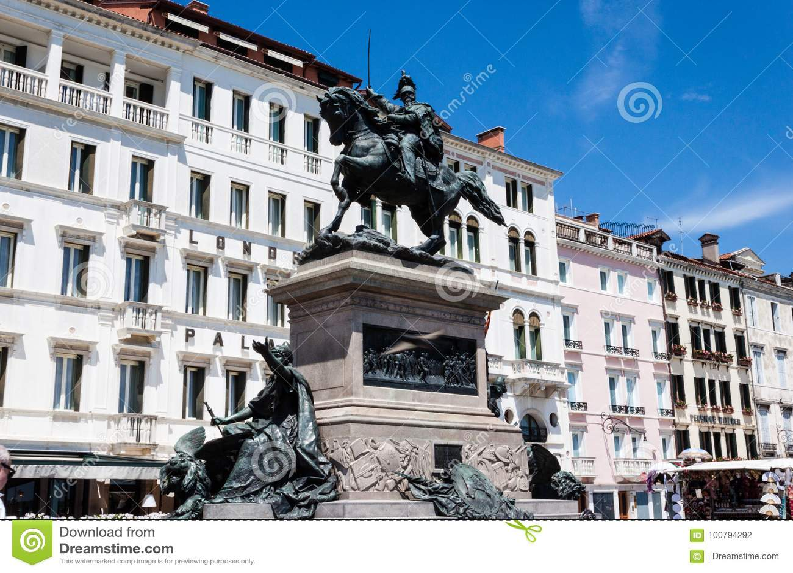 Den Victor Emmanuel II monumentet Monumento Nazionale en Vittorio Emanuele II