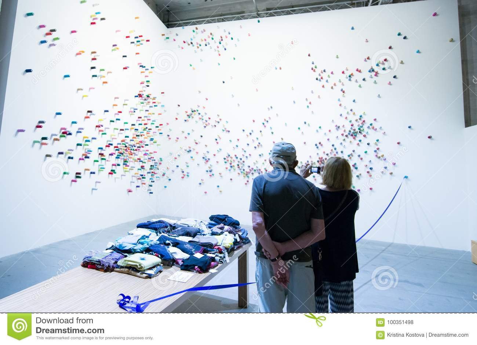 Den Viva Arte Viva för Biennale diVenezia ` `en Italien