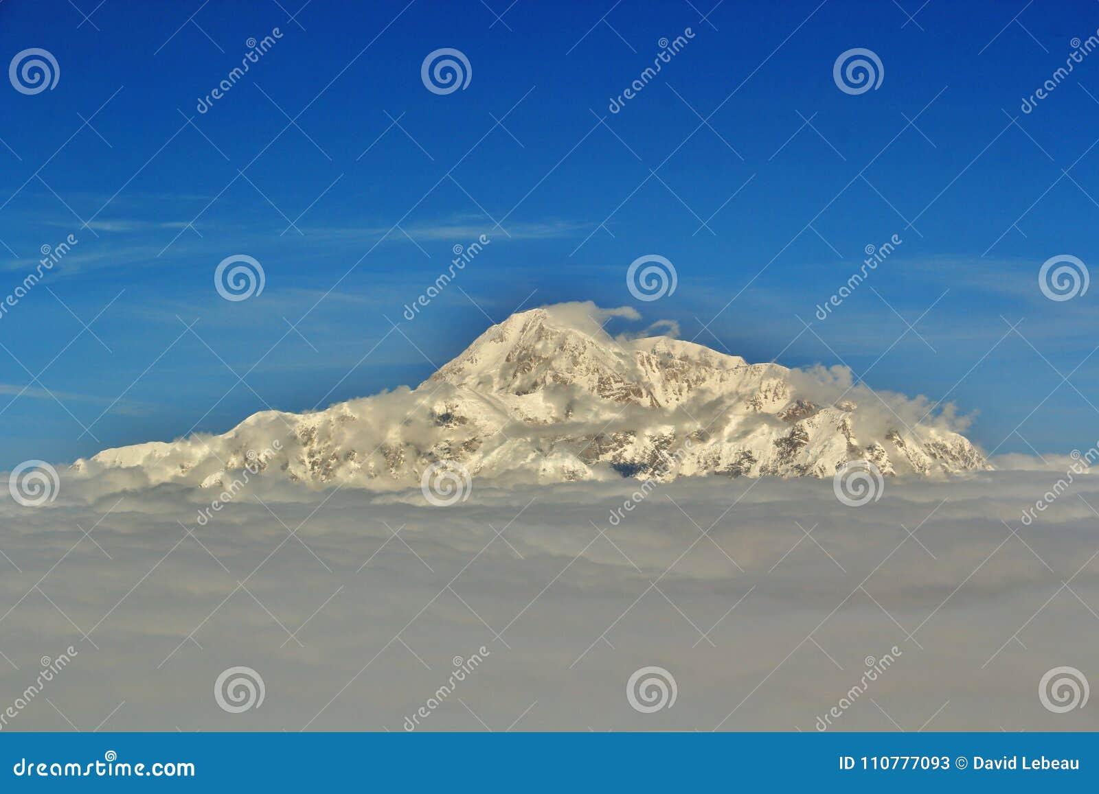 Denali als Onderstel McKinley Alaska ook wordt bekend dat