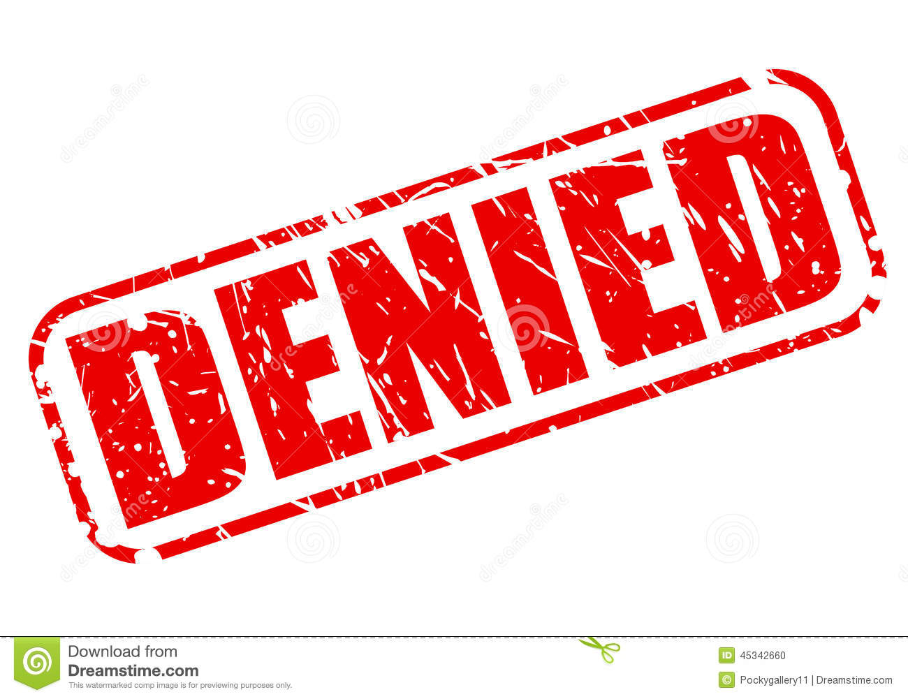 Denied >> Denied Red Stamp Text Stock Vector Illustration Of Isolated
