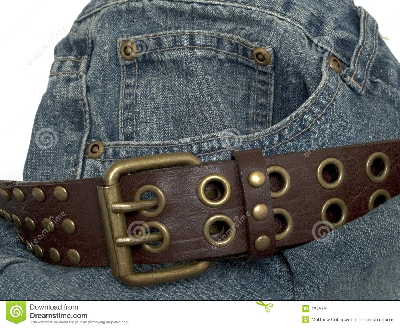 Denim and belt 2