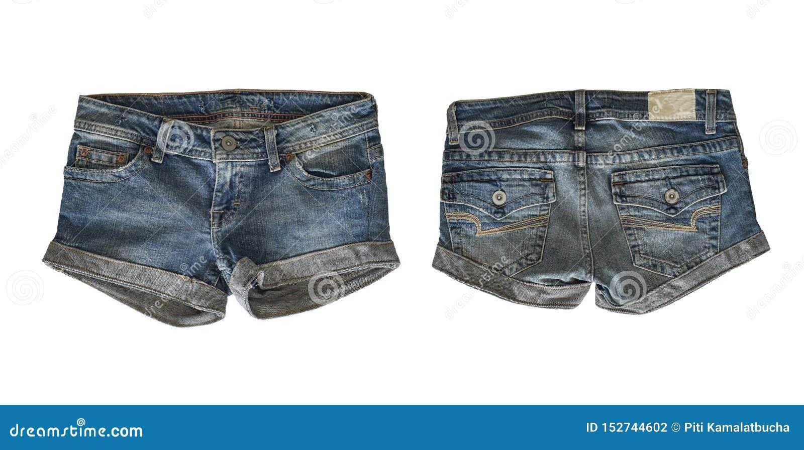 Denim shorts for female