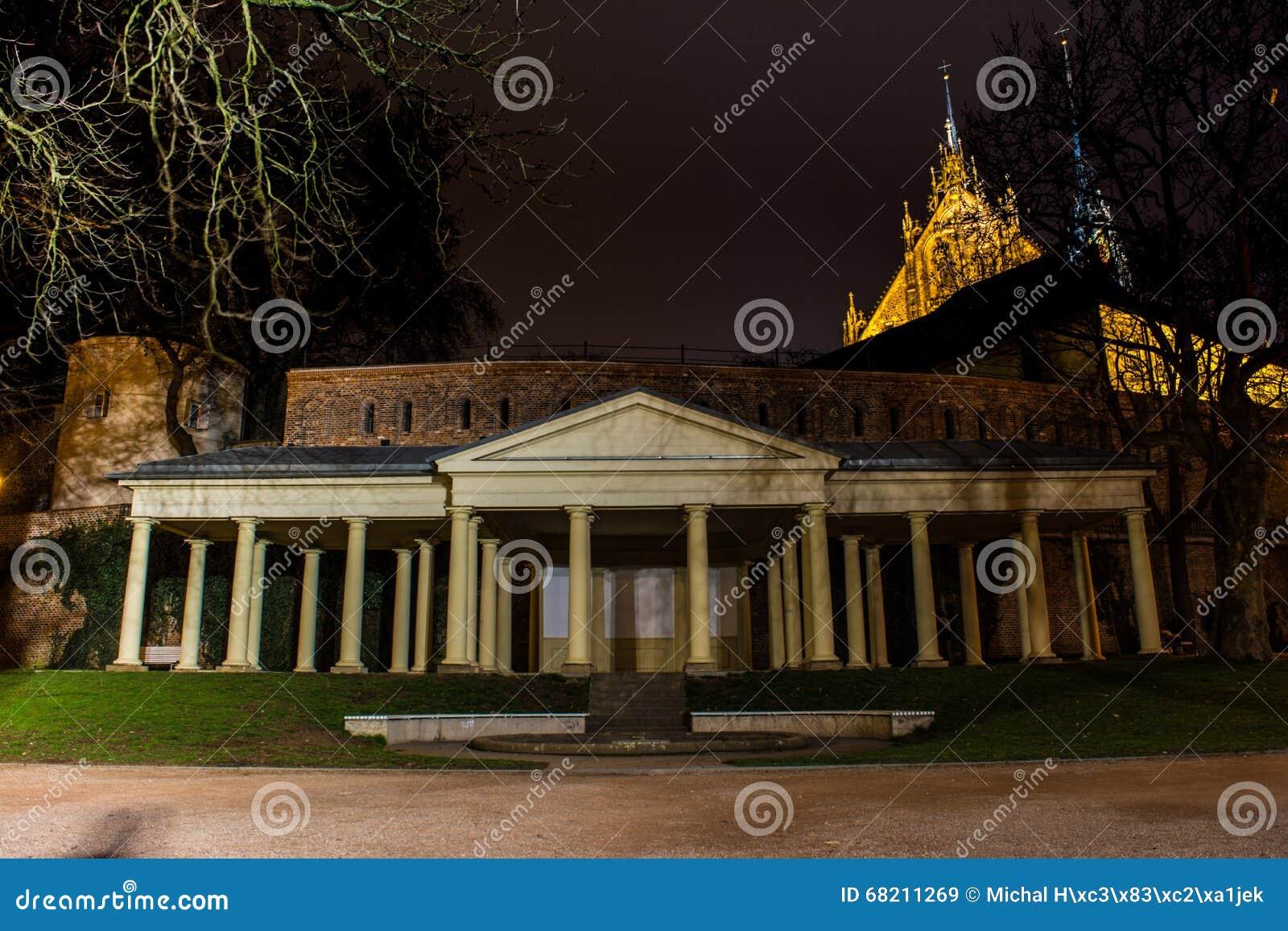 Denis Gardens stock image. Image of historical, moravia - 68211269