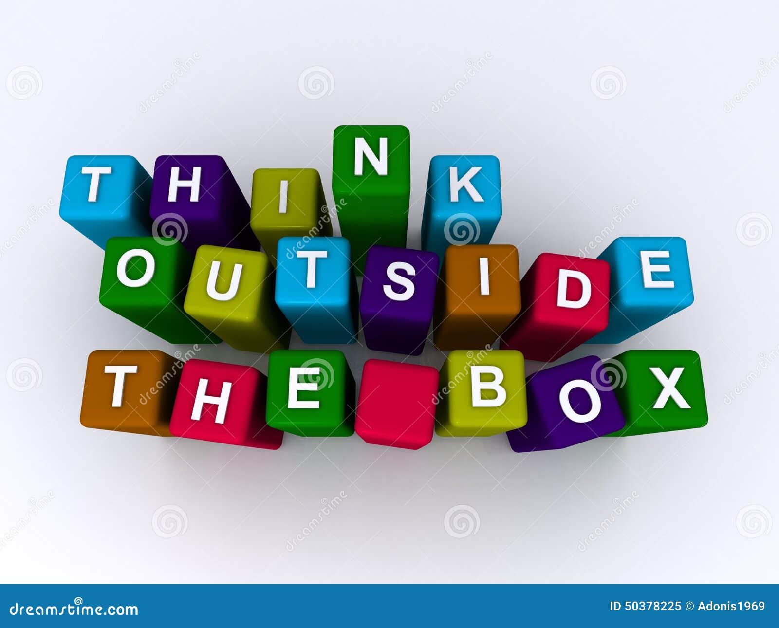 Denk buiten de doos