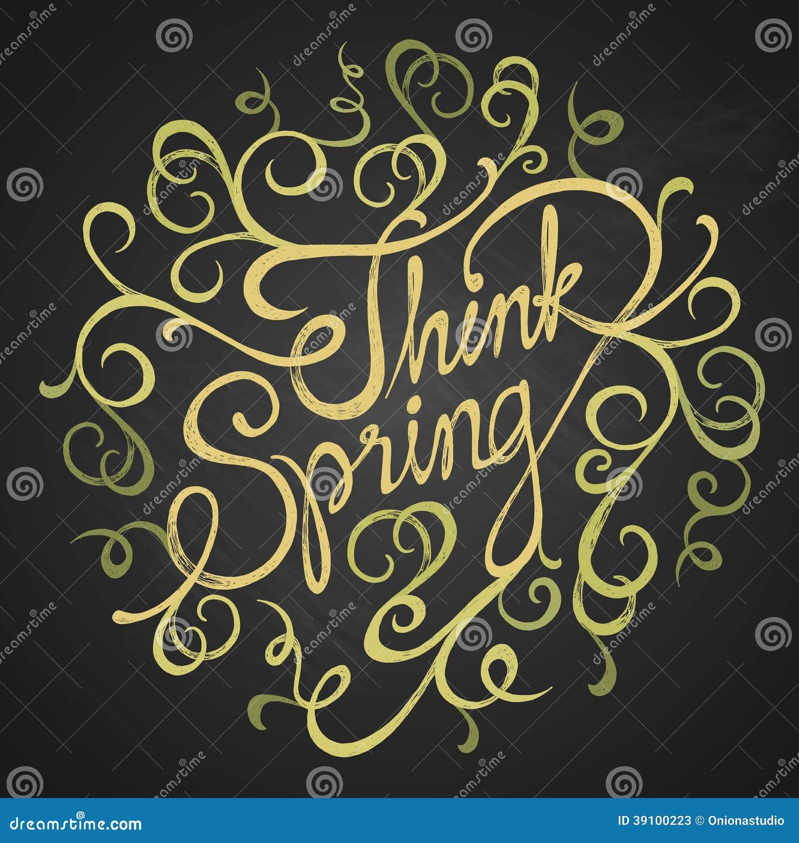 Denk de lente - citaten