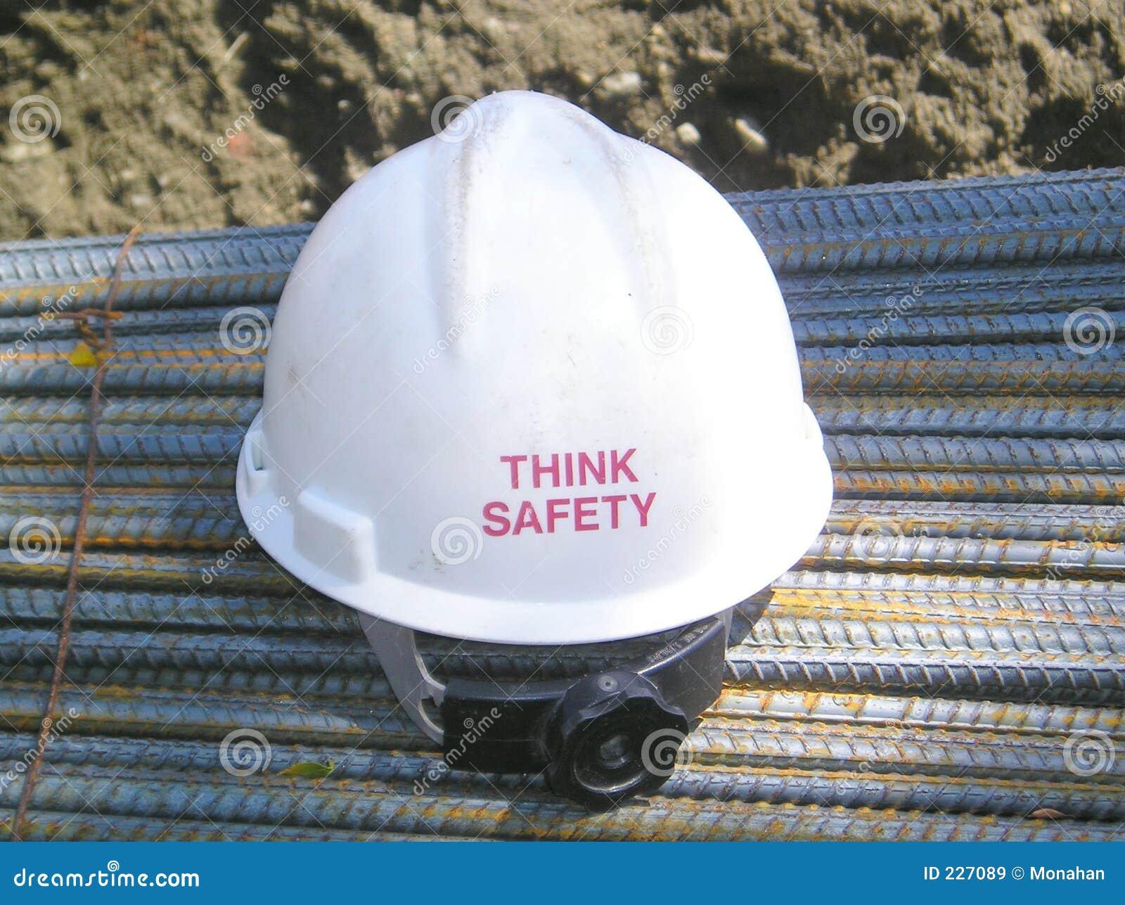Denken Sie immer Sicherheit