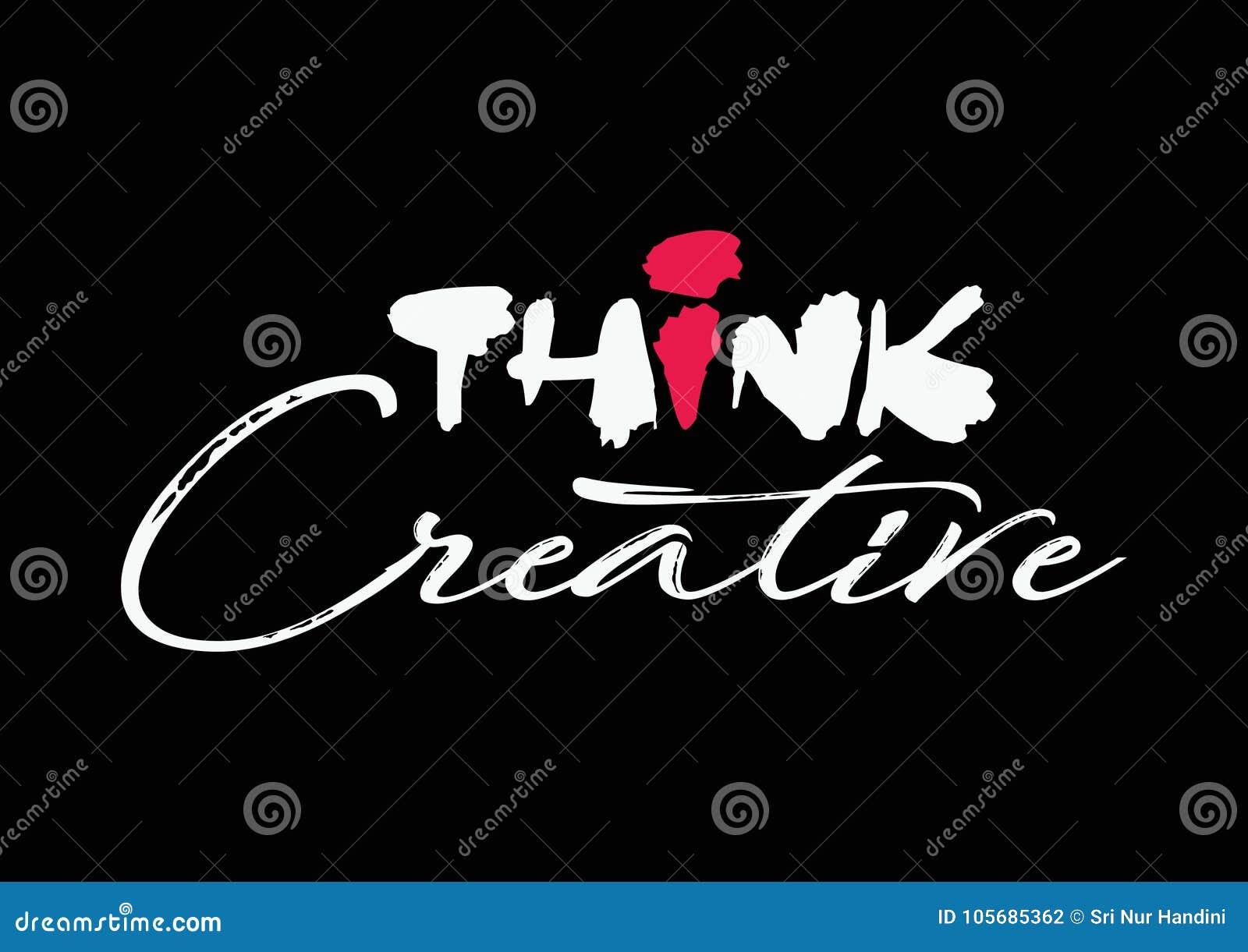 Denken Sie kreatives