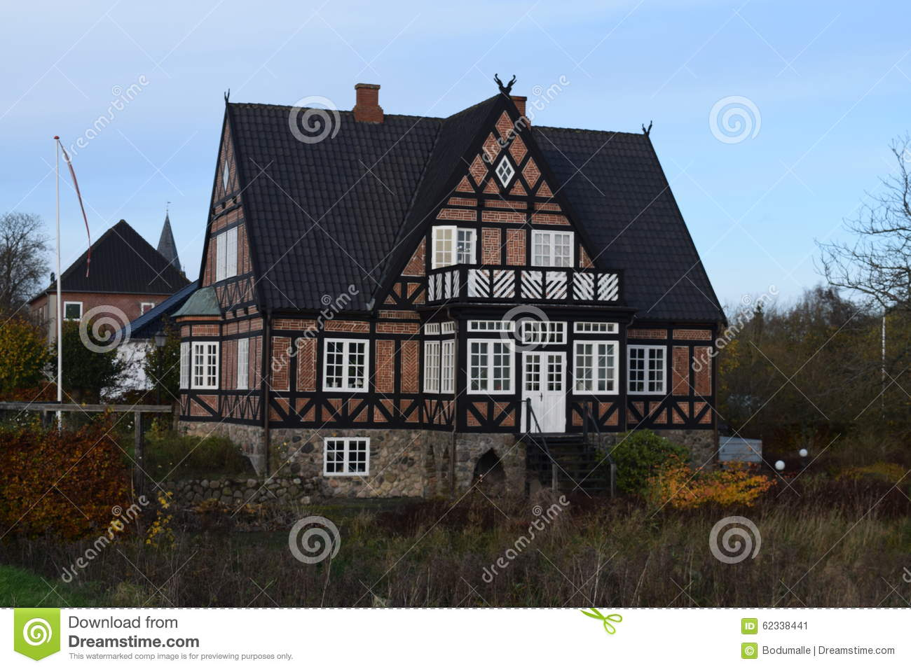 2015 denmark christiansfeld unesco beautiful old house for Beautiful classic houses