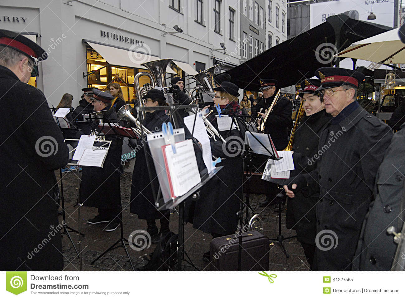 Denmarkdonation For Salvation Army Editorial Image Image Of
