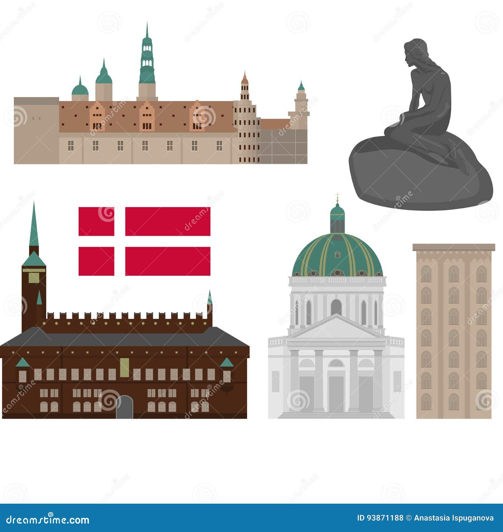 Architecture City Copenhagen Danish Denmark Design Elements