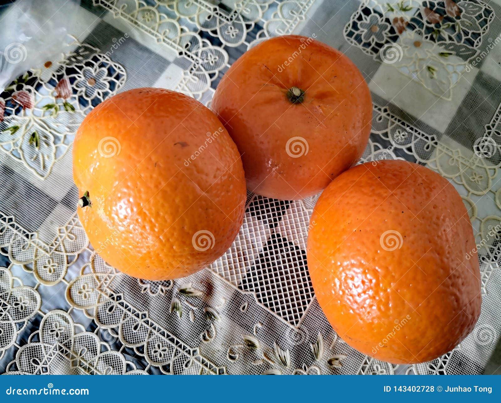 Denna apelsin är en kinesisk frukt