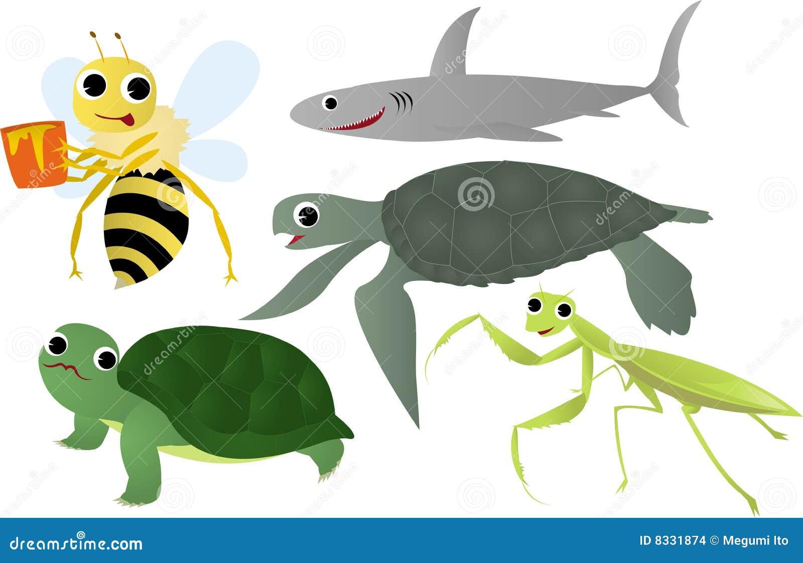 Denni zwierzęcy insekty