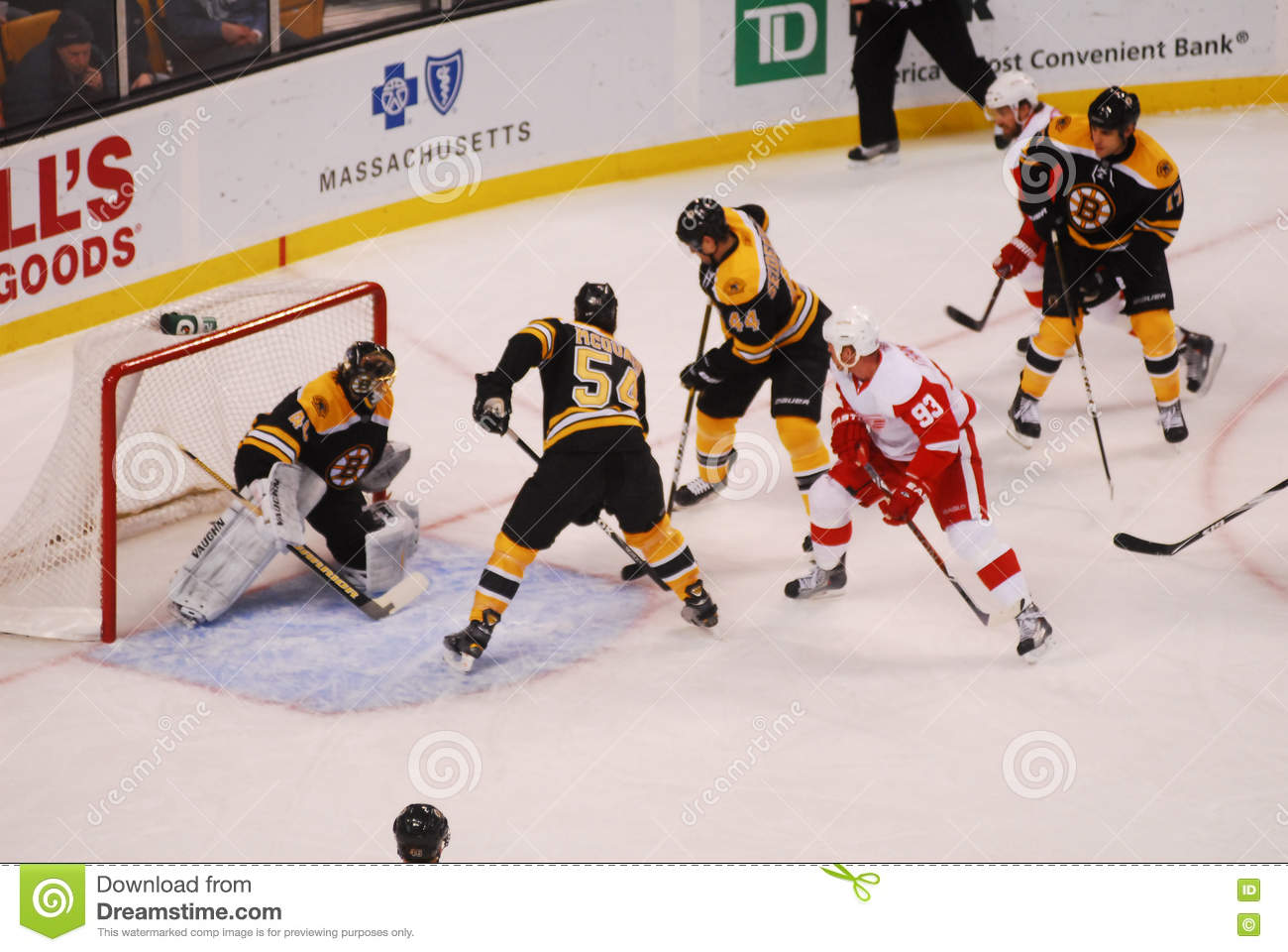 on sale 9a088 24c51 Dennis Seidenberg And Adam McQuaid Editorial Photo - Image ...