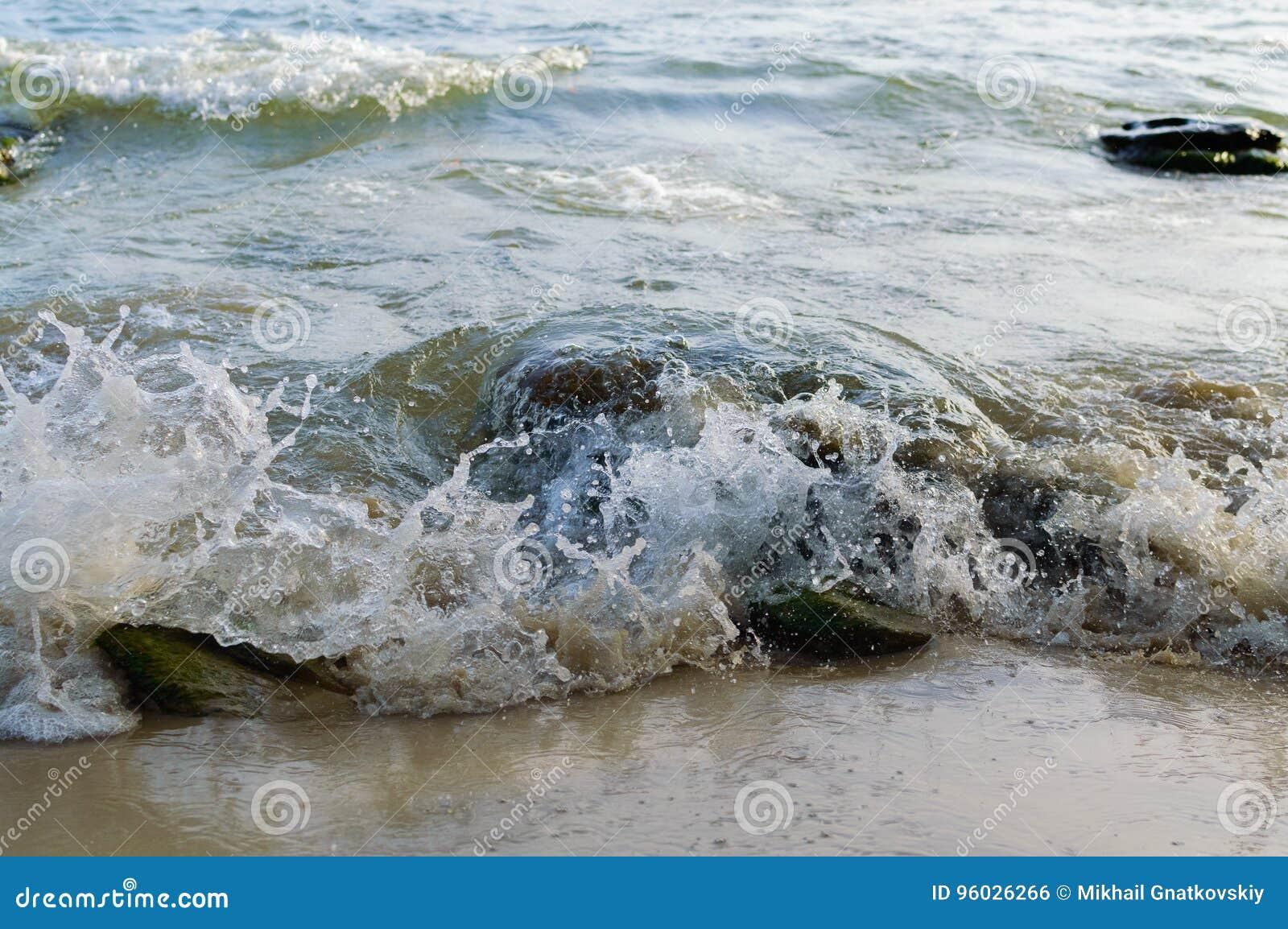Denny brzeg w Sihanoukville plaży