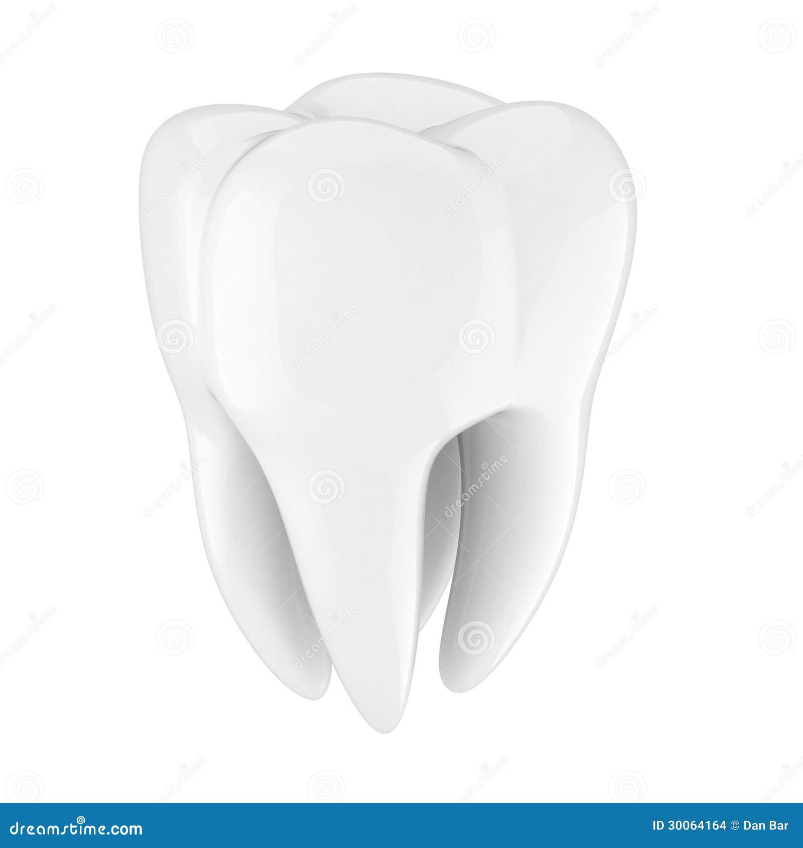 Dent 3d illustration stock illustration du isolement - Dessin de dent ...