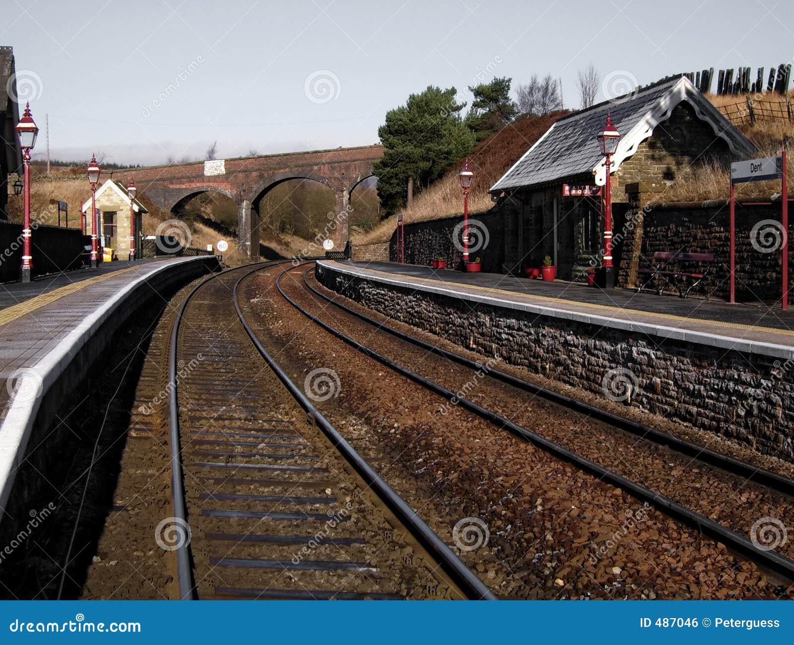 Dent stacji kolejowej