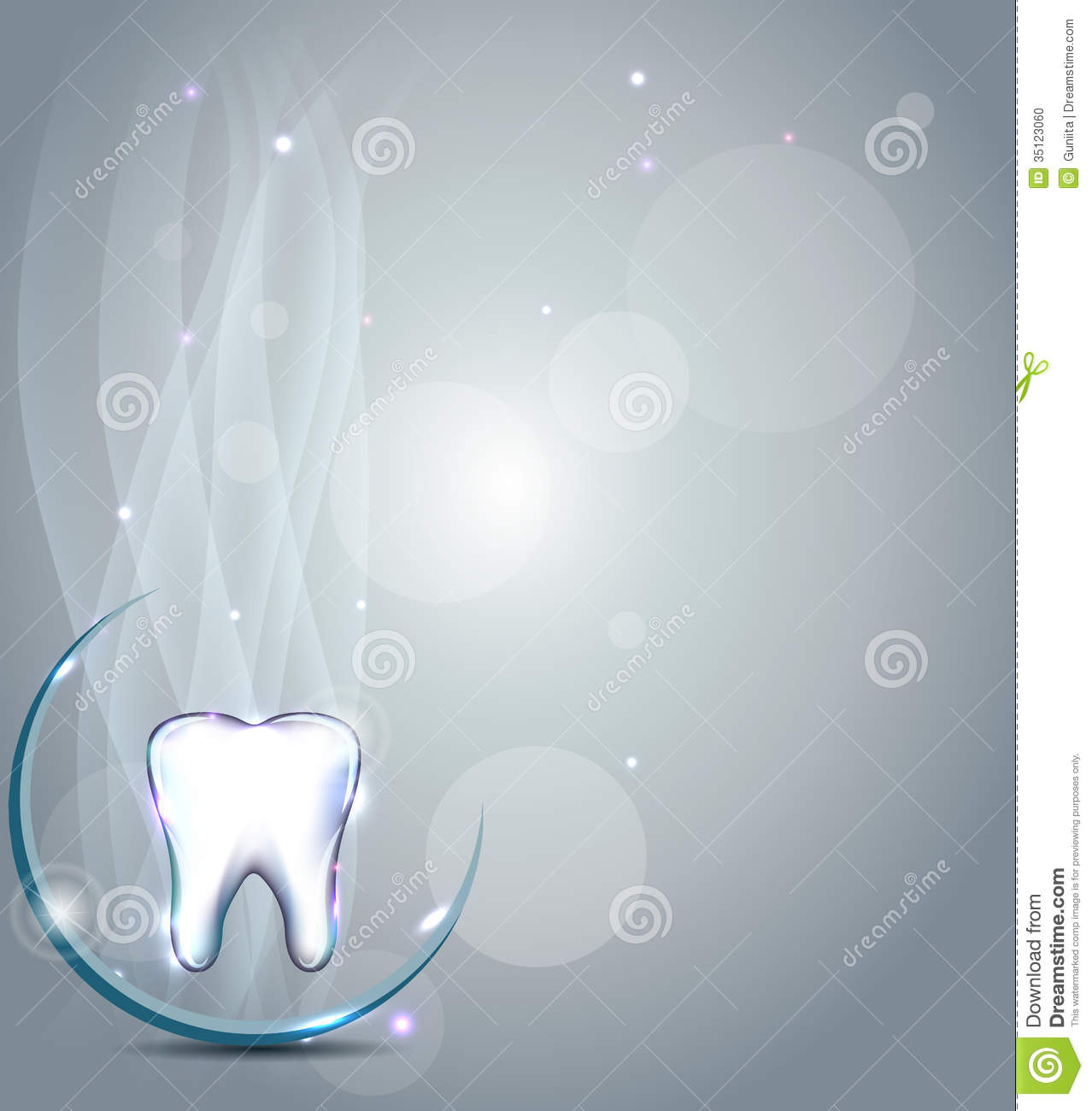 Dental Background Stock Photo - Image: 35123060