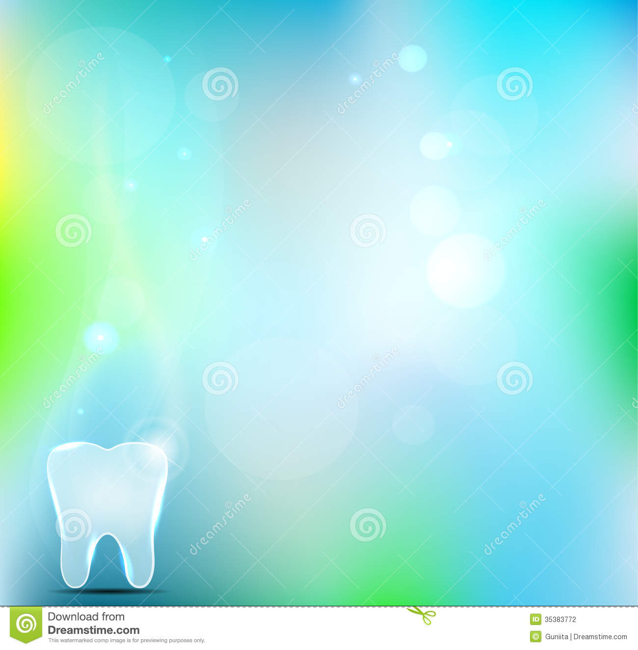 Beautiful Light Blue Bedrooms: Dental Background Stock Photography