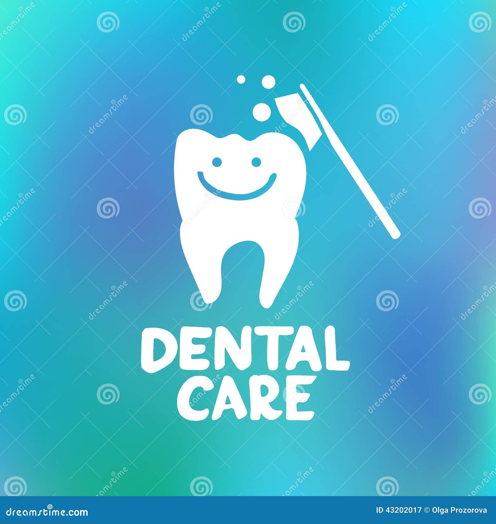 Dental Care Design Concept Stock Vector Image 43202017