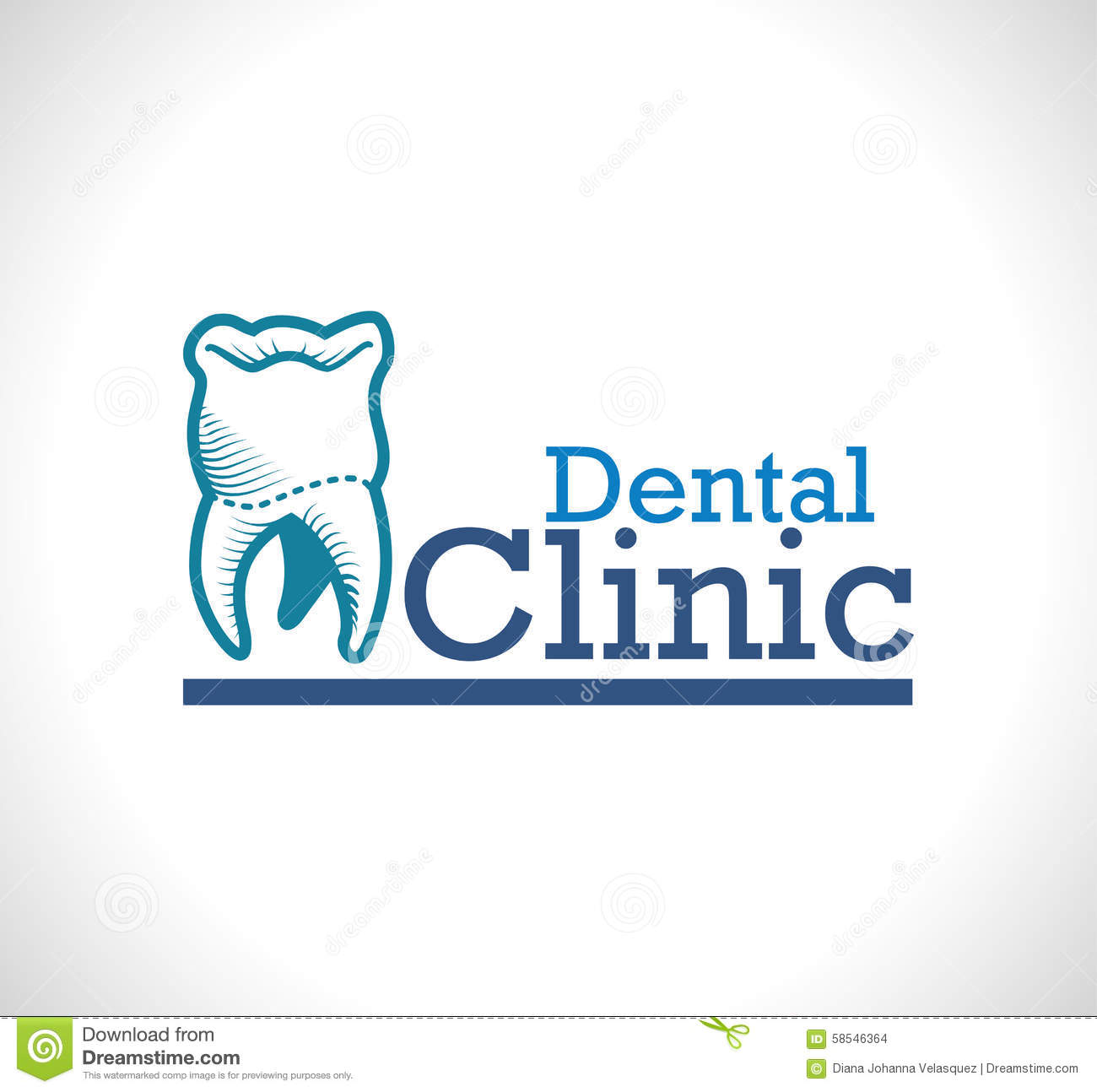 Dental Care Design Stock Vector Image 58546364