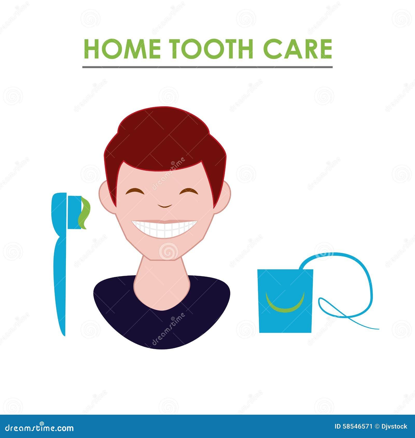 Dental Care Design Stock Vector Image 58546571
