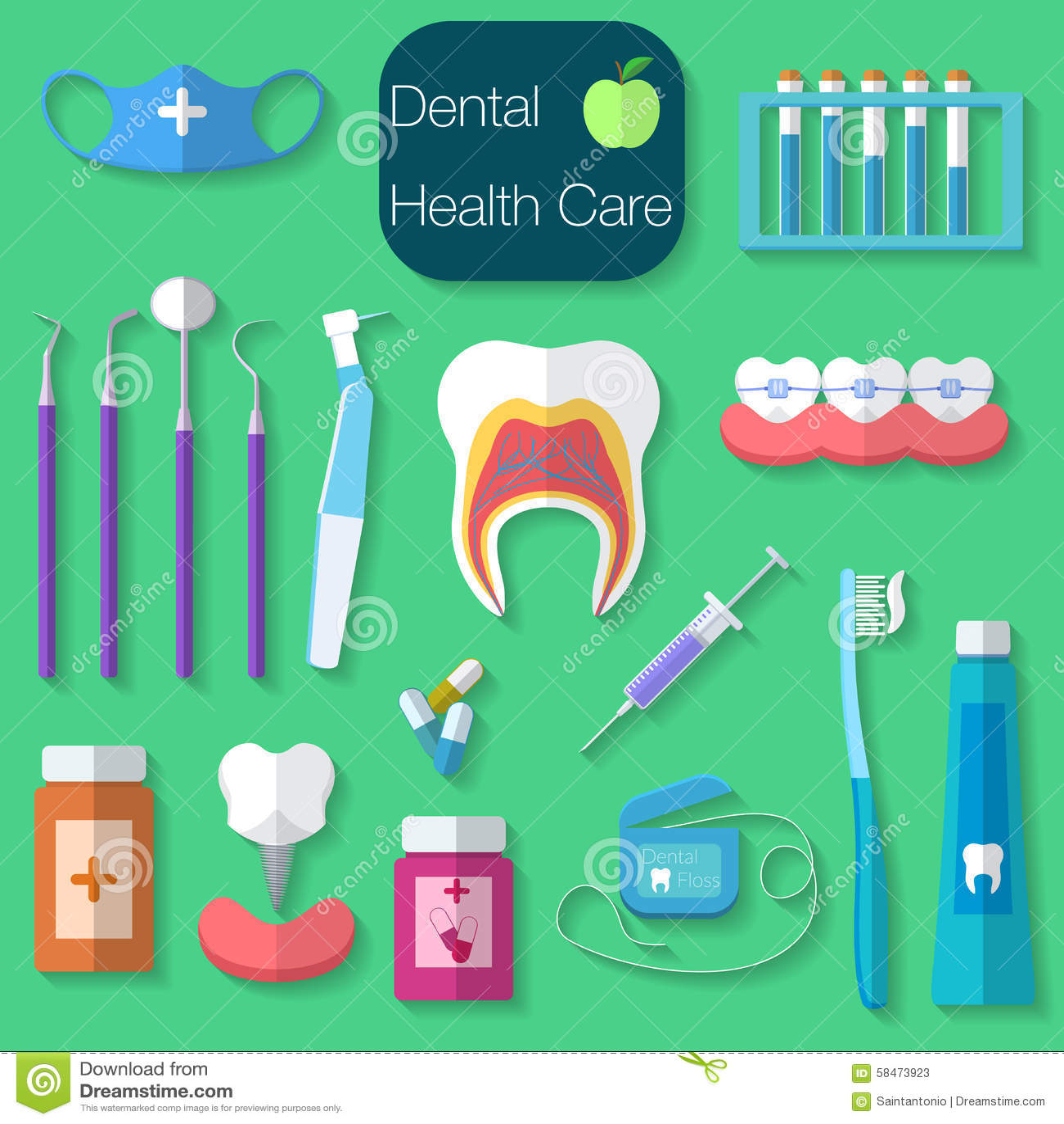 dental-care-flat-design-vector-illustration-dental-floss-teeth-mouth-tooth-paste-brush-medicine-syringe-dentist-58473923.jpg